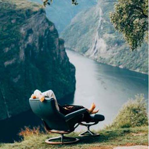 Stressless chair in Norway