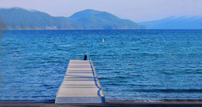 Whitefish, Montana City Lake